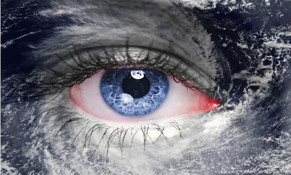 hurricane eye-rine