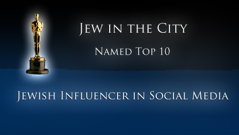 Jew in the City Is A Top Ten Jewish Influencer in Social Media
