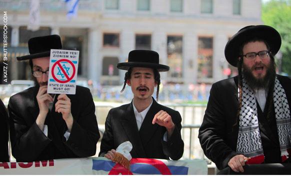 orthodox jews zionists