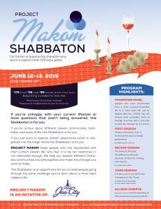 Shabbaton-D