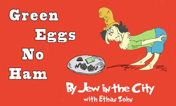 """""""Green Eggs, No Ham"""" (A JITC High Holiday Animated Short)"""