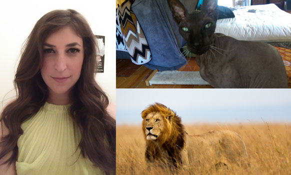 Mayim Bialik Weighs In On Cecil the Lion And Human Life