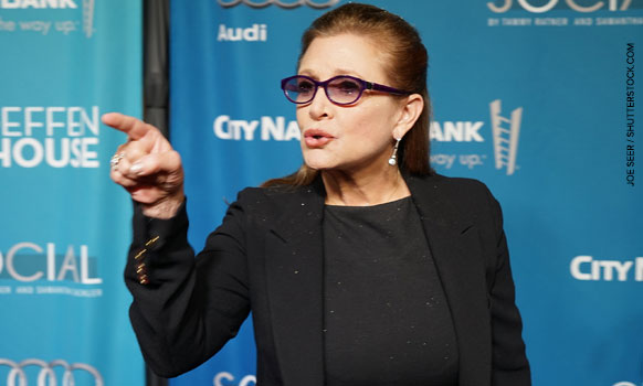 A Jewish Take On The Carrie Fisher Aging Controversy