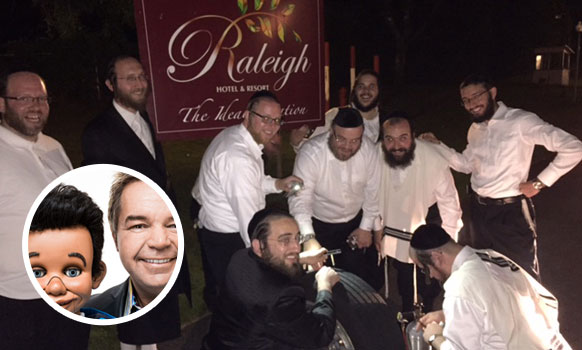 The Catholic Italian Ventriloquist Who Loves Hasidic Jews