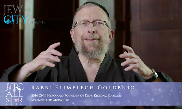 Orthodox Jewish All Star, Rabbi Elimelech Goldberg, CNN Hero