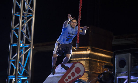 The First Orthodox Jewish American Ninja Warrior?