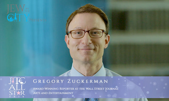 Orthodox Jewish All Star, Greg Zuckerman, WSJ Reporter