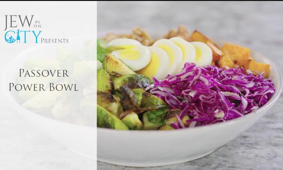 Video Recipe: Pesach Power Bowl