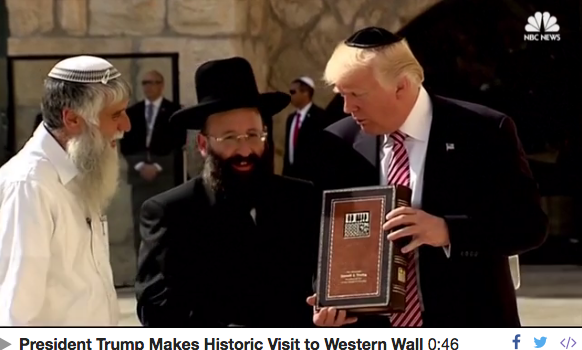 The Kotel is the Top World Headline & Other Orthodox Jews in the News