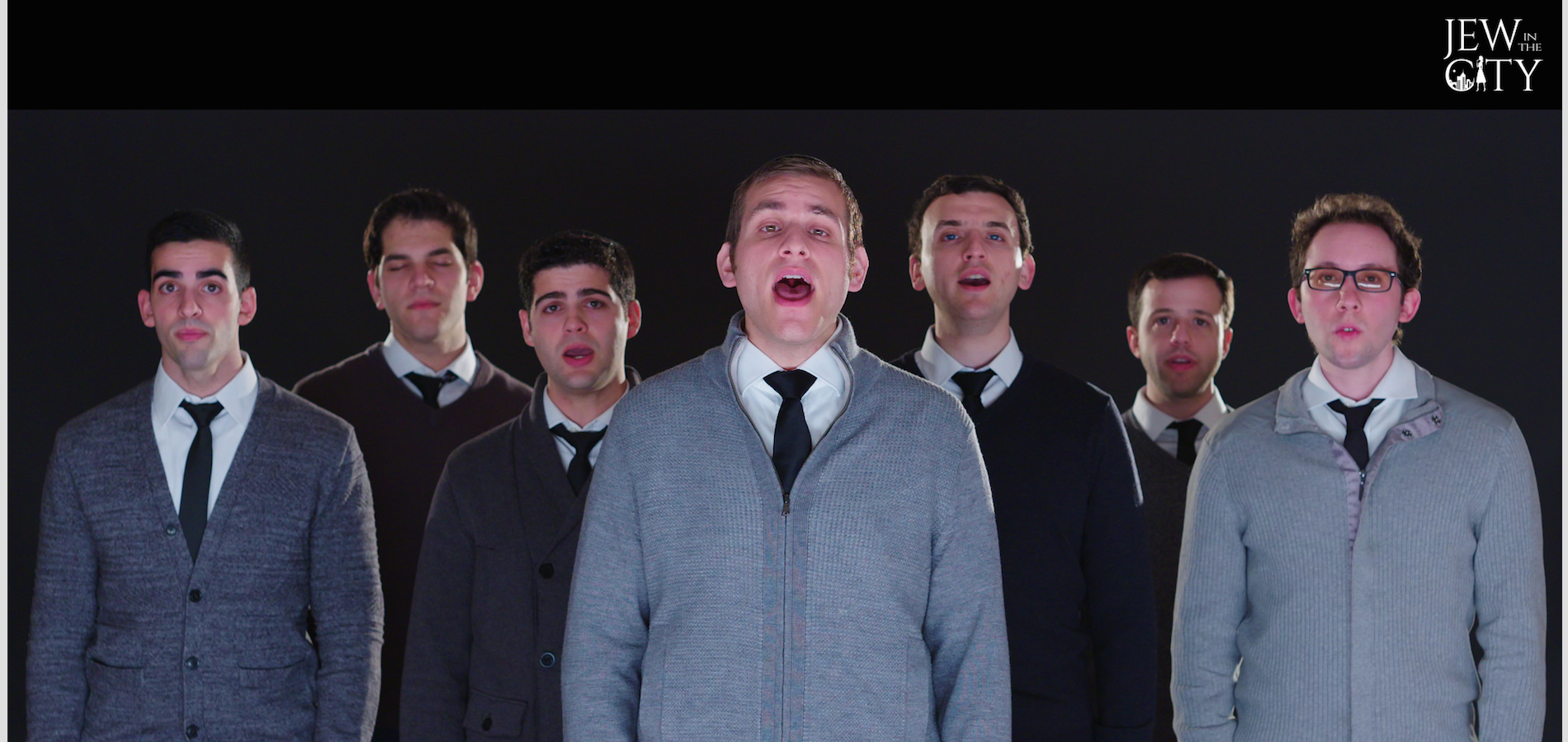 "Jew in the City Presents ""The Sound of Silence"" feat. The Maccabeats"