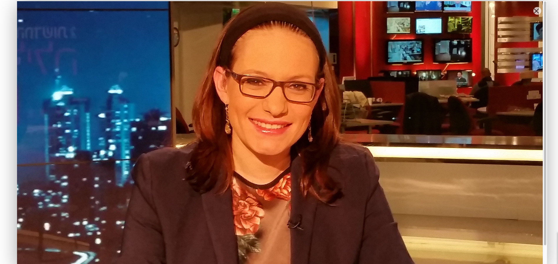 The Most Popular Israeli Female News Anchor is Haredi & Other Orthodox Jews in the News