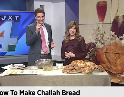 JITC All Star Jamie Geller Bakes Challah on TV & Other Orthodox Jews in the News