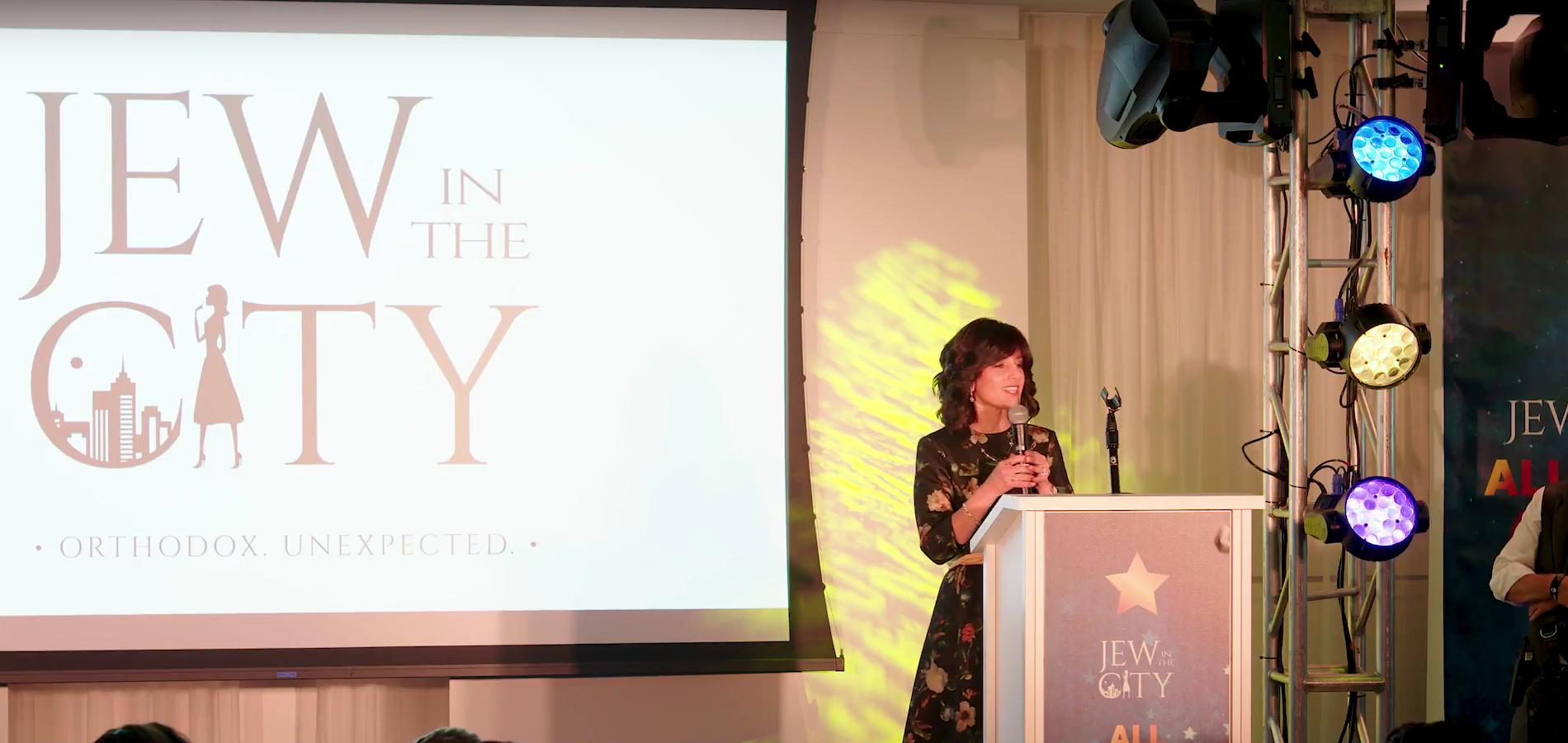 First Hasidic Female Judge, The Hon. Ruchie Freier, Accepts Orthodox Jewish All Star Award