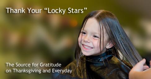"Thank Your ""Locky Stars"""