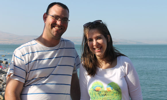 Israeli Bomb Shelter Date Leads to Marriage Proposal!