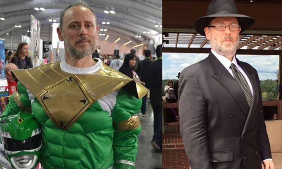 The Black Hat Rabbi Who Goes To Comic-Con