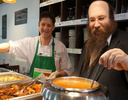 Masbia, New York's Only Kosher Soup Kitchen Celebrates Thanksgiving with Cholent & Other Orthodox Jews in the News