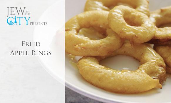 50 Second Rosh HaShanah Recipe: Fried Apple Rings