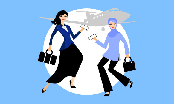 The Muslim And Orthodox Jewish Women Who Chatted On A Plane