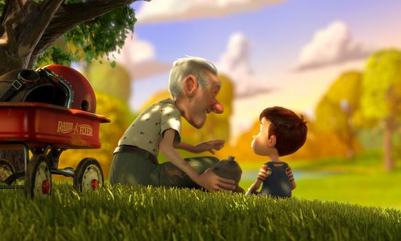 This Orthodox Jewish Boy Stars in Emmy-Nominated Animated Short