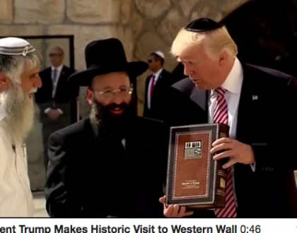 The Kotel Is Top World Headline & Other Orthodox Jews in the News