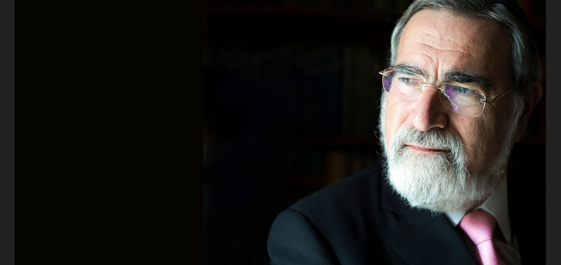 My Sit-down With Rabbi Lord Jonathan Sacks On Faith In Modern Times