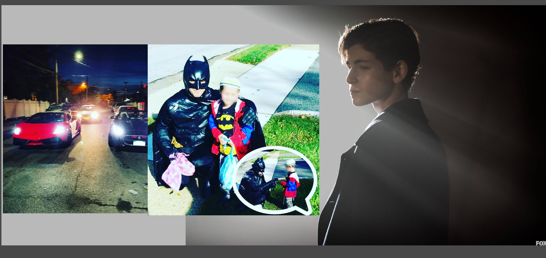 The Orthodox Batman Who Visits Sick Children Will Meet the Orthodox Teen Who Plays Batman On TV