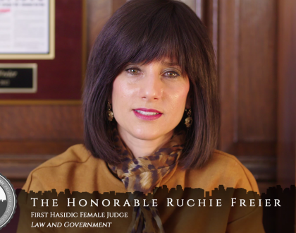 Orthodox Jewish All Star, Ruchie Freier, First Hasidic Female Judge