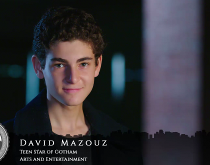 Orthodox Jewish All Star, David Mazouz, Teen Star of Fox's Gotham