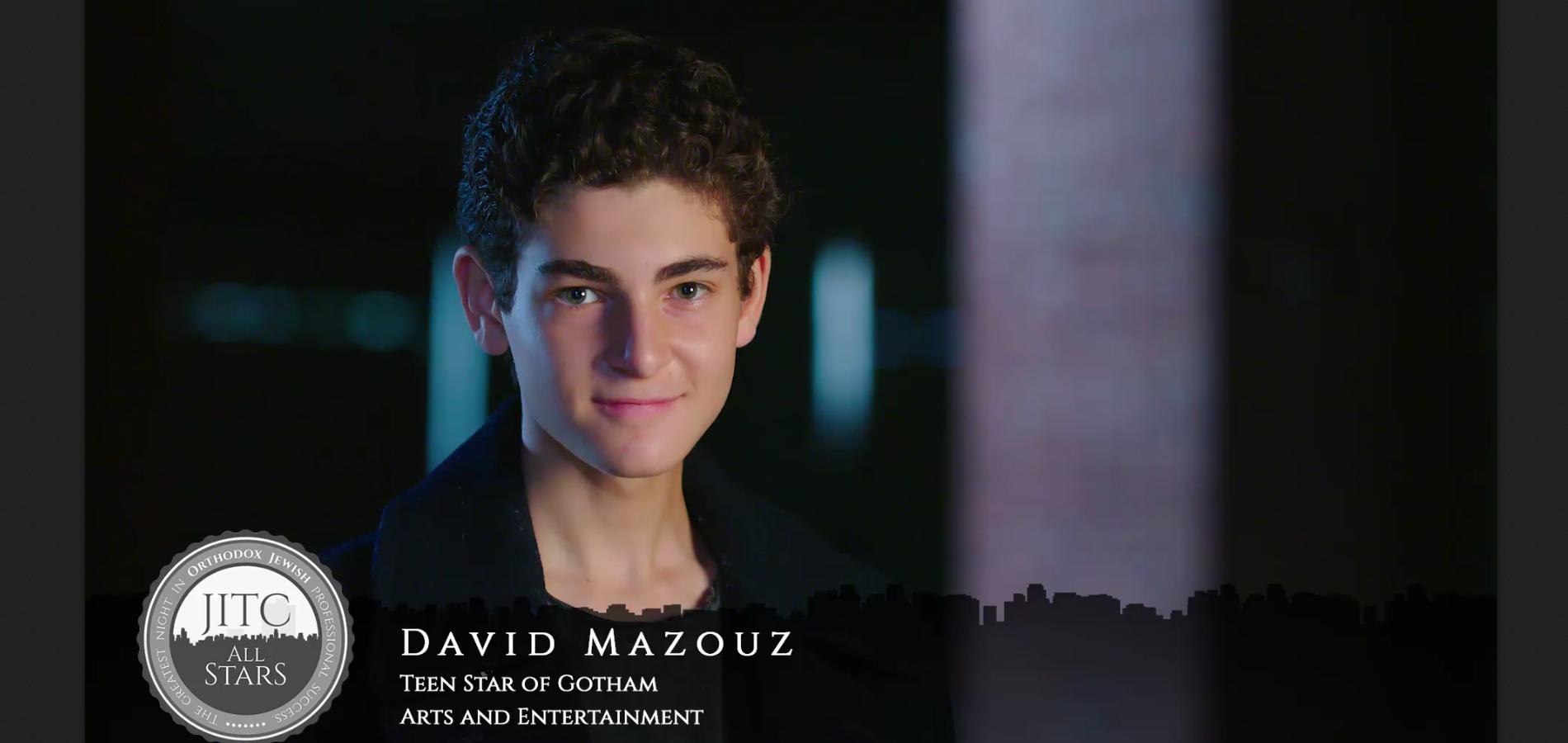 Orthodox Jewish All Star, David Mazouz, Teen Star of Fox's Gotham