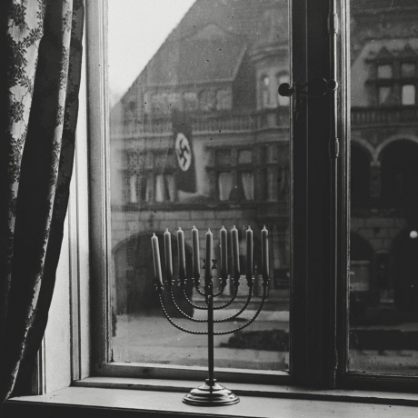The Menorah That Defied Hitler Lights Up & Other Orthodox Jews in the News