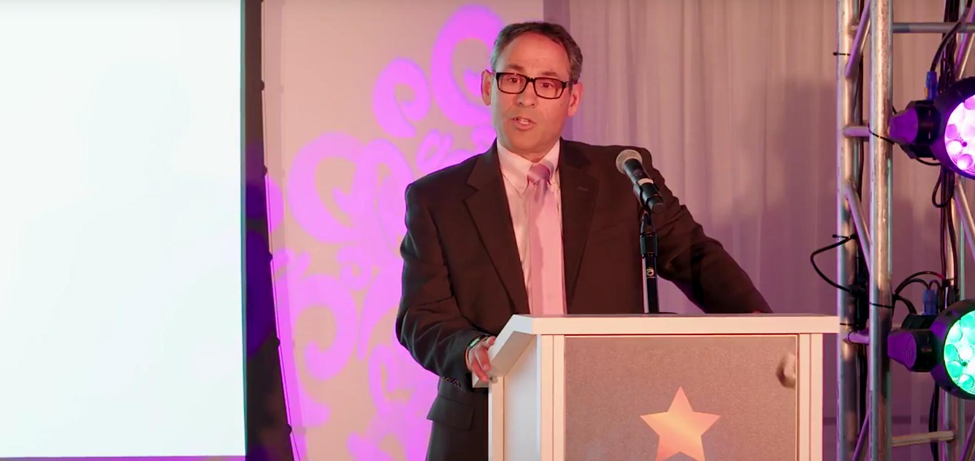 CFO Mobility, Ford Motor Co, Neil Schloss, Accepts All Star Award