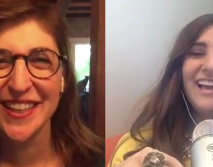 "My Sit Down With Mayim Bialik On ""Girling Up"" & Its Jewish Values"