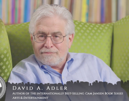 Orthodox Jewish All-Star, David A. Adler, Cam Jansen Author