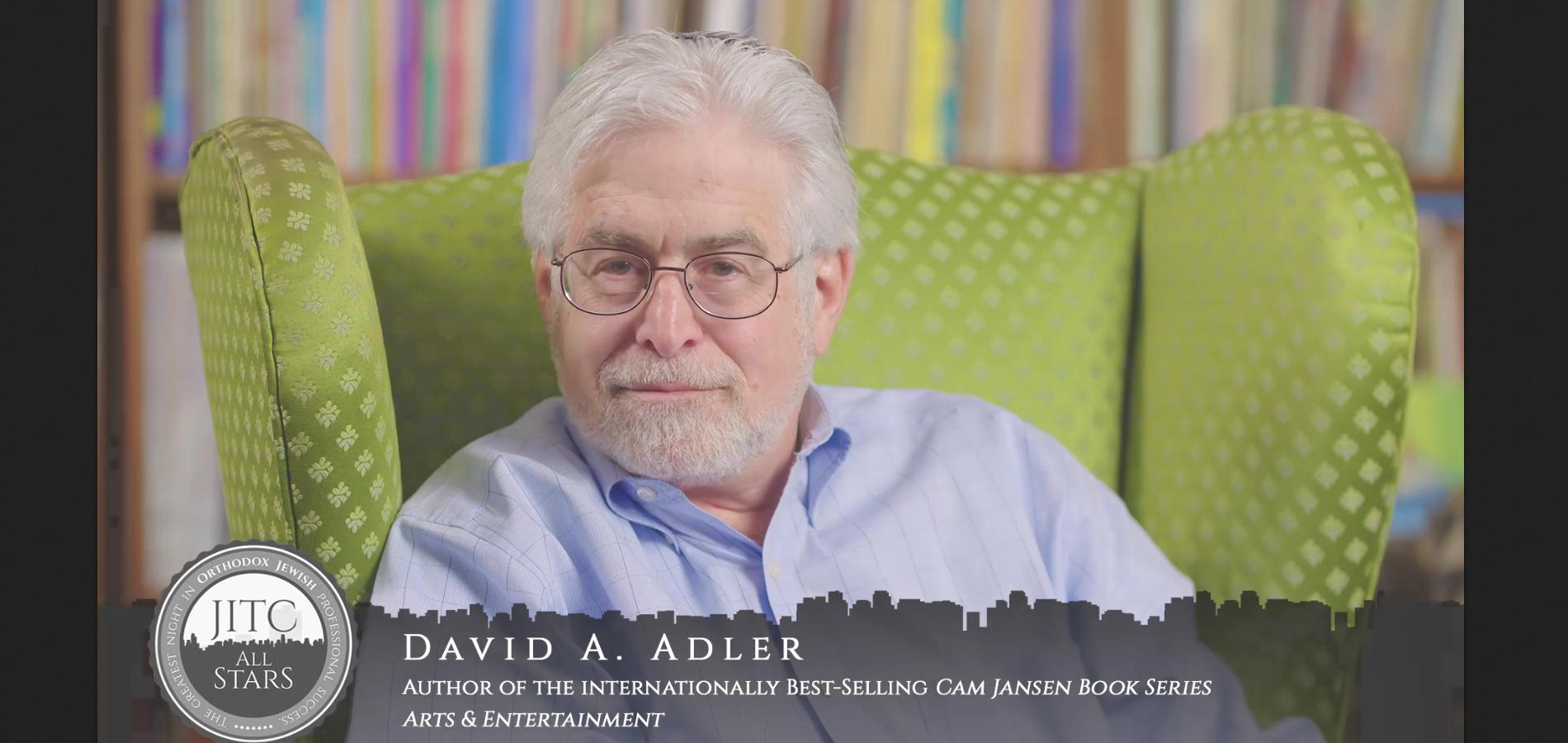Orthodox Jewish All-Star, David A. Adler, Cam Jansen Author