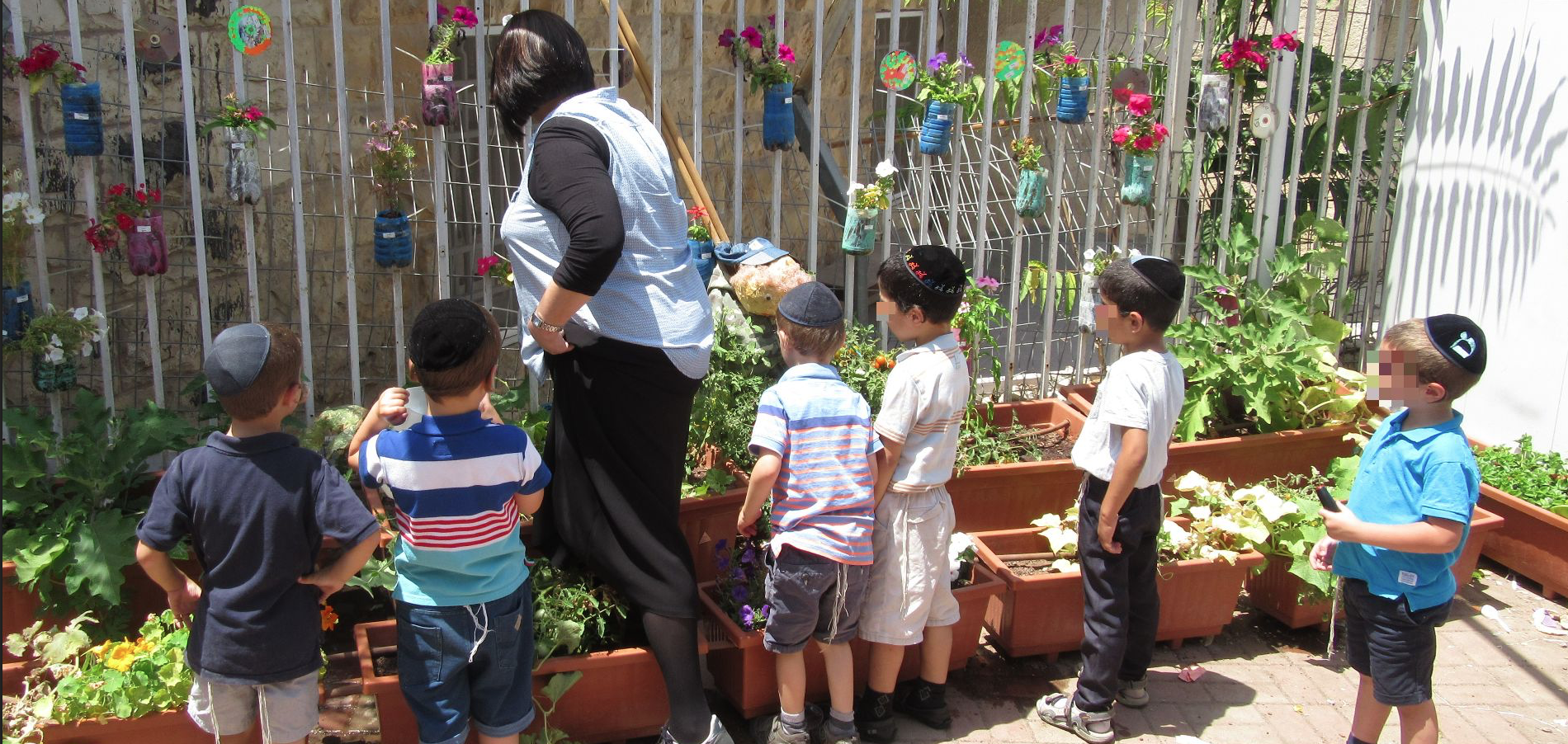 LeShomra in Action: Teaching Haredi Kids To Work With Nature