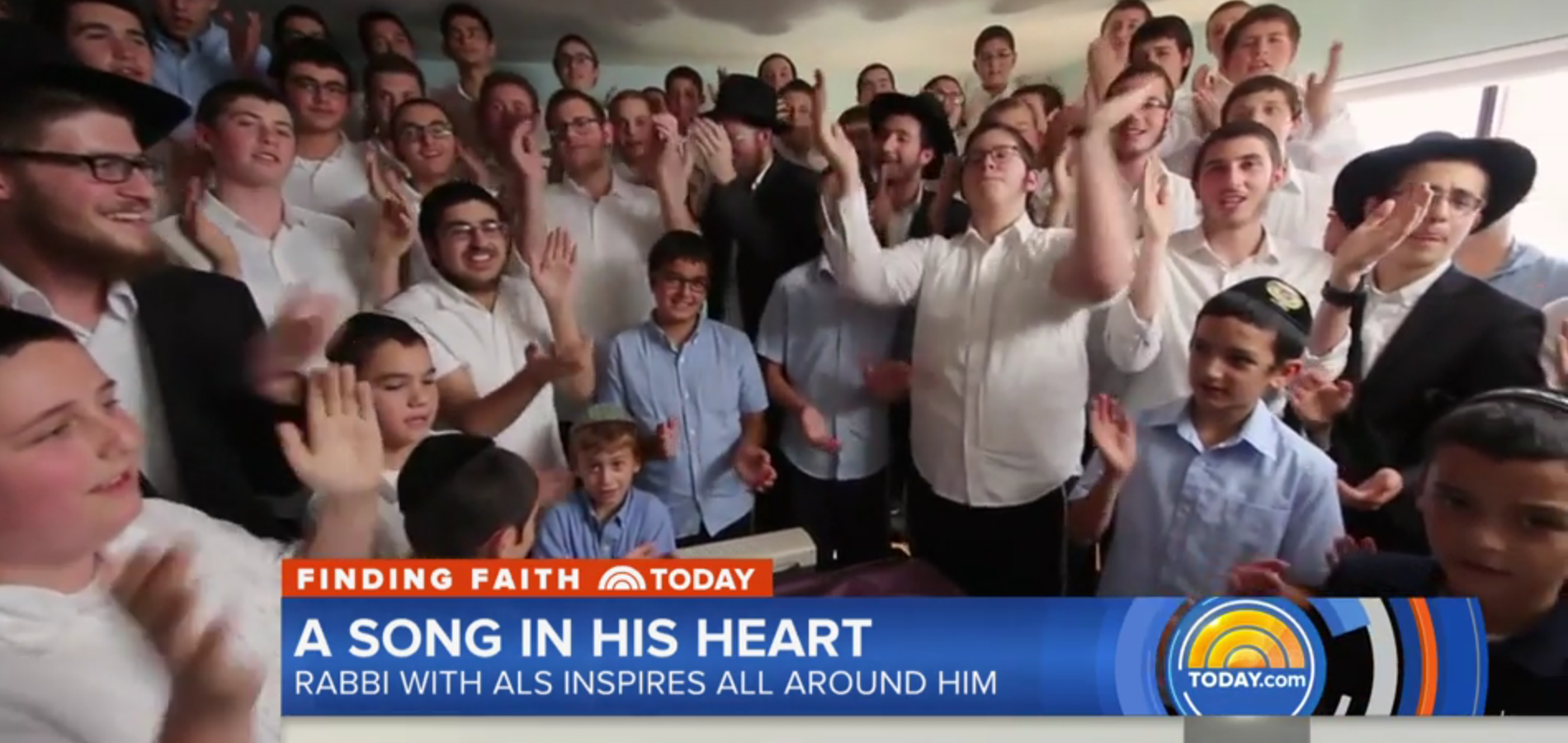 Rabbi With ALS's Message of Hope & Other Orthodox Jews in the News