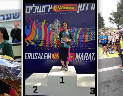 Haredi Mother of Five Wins Fastest Israeli Female at Jerusalem Marathon!