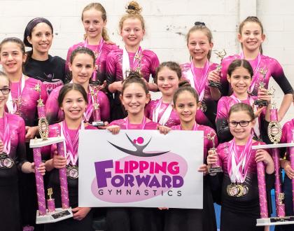 The Orthodox Jewish Girls' Gymnastics Competition