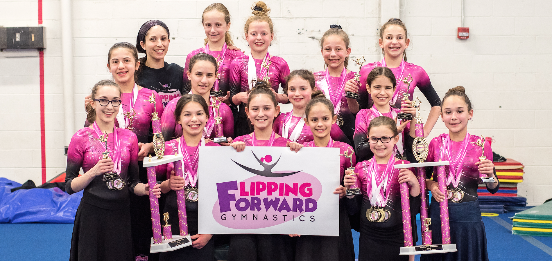 The Orthodox Jewish Girls' Gymnastics Competition