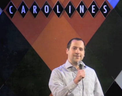 There's Something Funny About This Orthodox Jewish Comedian