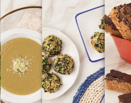"4 Delicious Recipes for the 9 Days From ""The Silver Platter"""