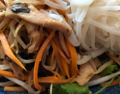 Fresh Kosher Pan-Asian Noodle Delights at Pho Men on Troy in Crown Heights