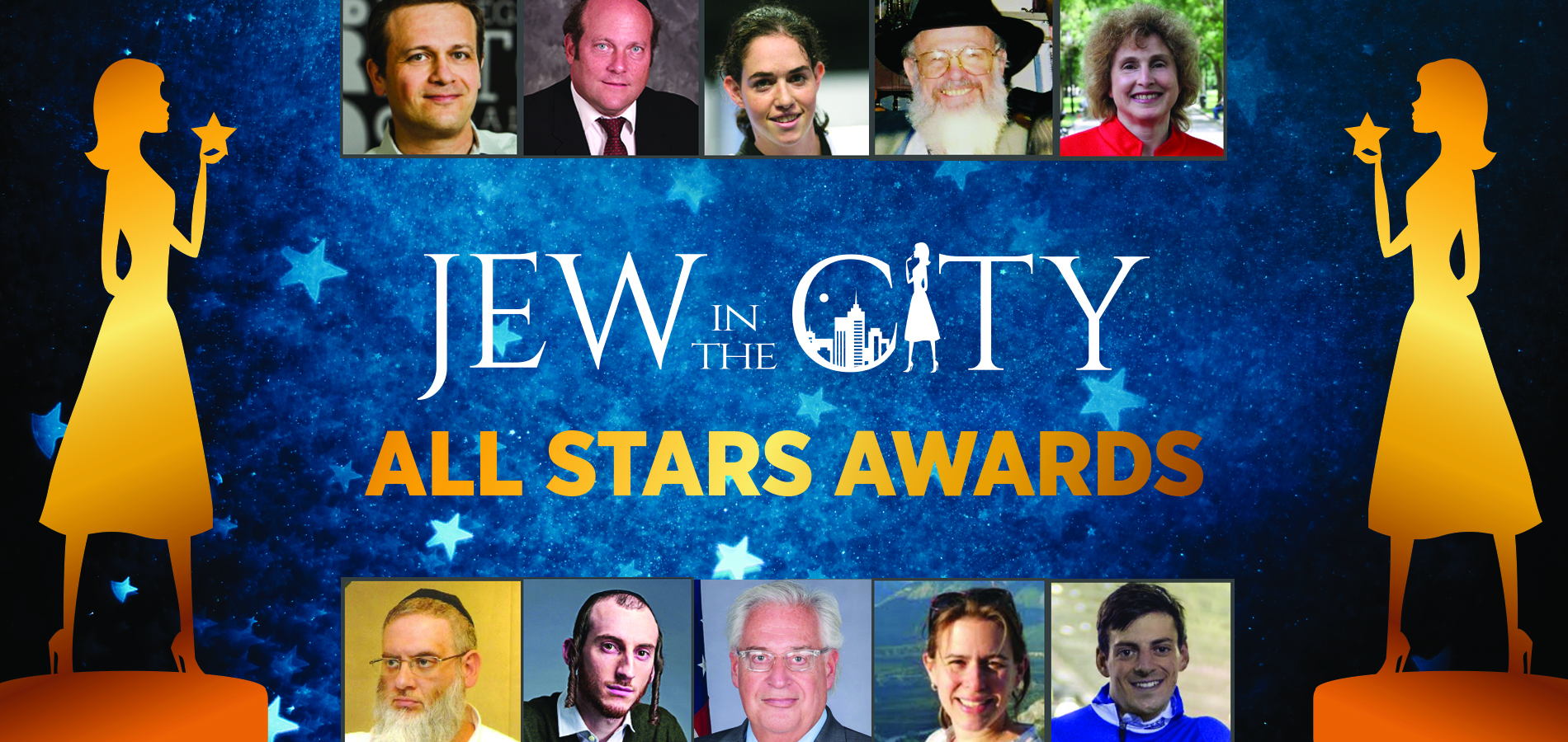 Announcing Jew in the City's 6th Class of Orthodox Jewish All Stars!