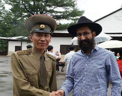 The Only Hasid in North Korea & Other Orthodox Jews in the News