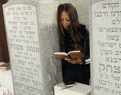 Supermodel Praises Chabad Rebbe & Other Orthodox Jews in the News
