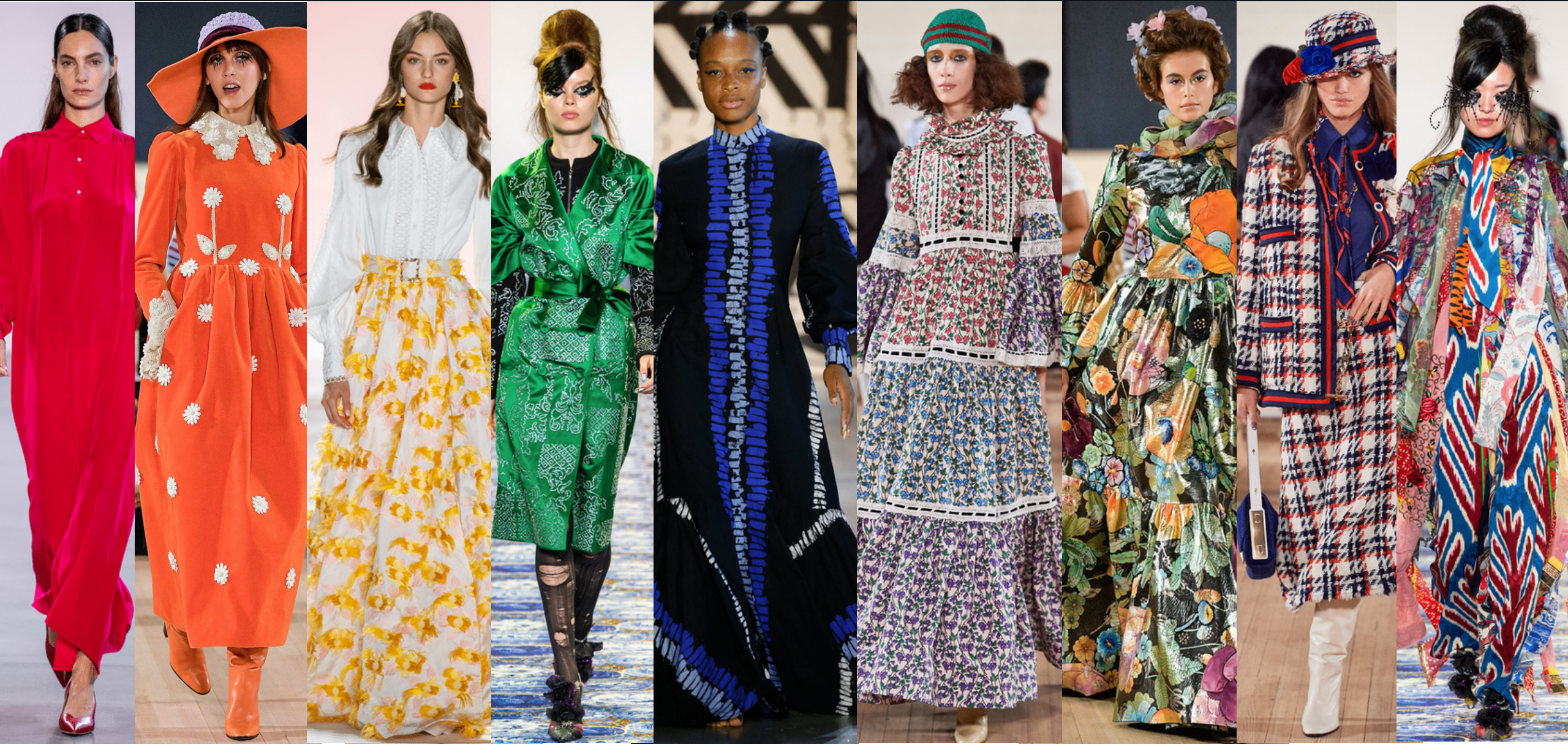 Trends For Spring 2020.The Top Ten Modest Trends From Spring 2020 Fashion Week