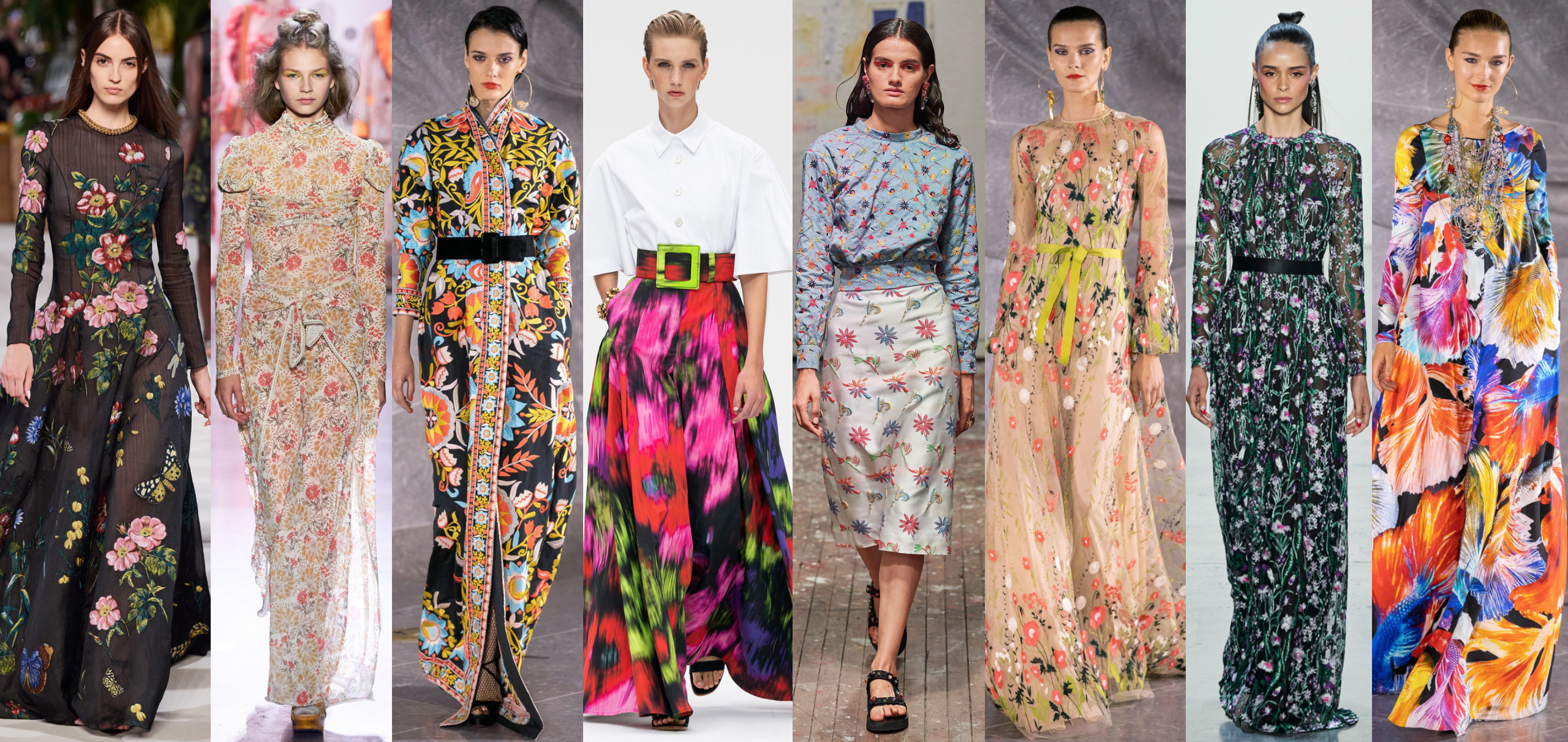 Spring Trends 2020.The Top Ten Modest Trends From Spring 2020 Fashion Week