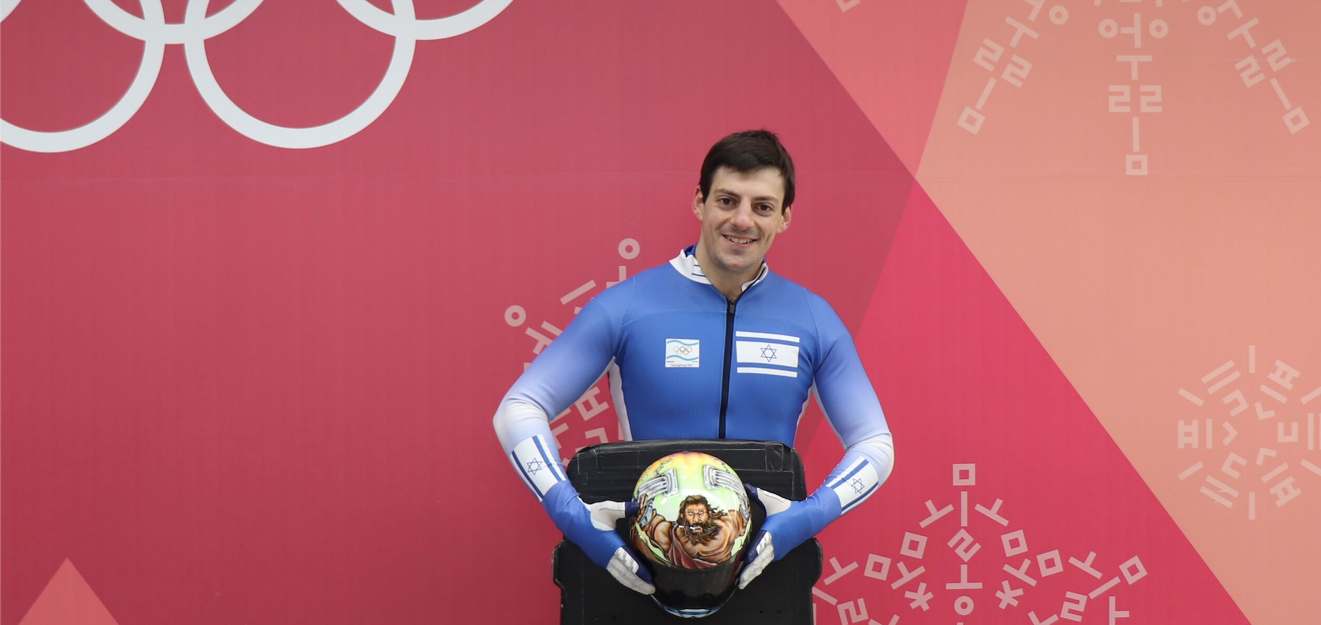 AJ Edelman, the first and only Orthodox Jewish man to compete in the Olympics