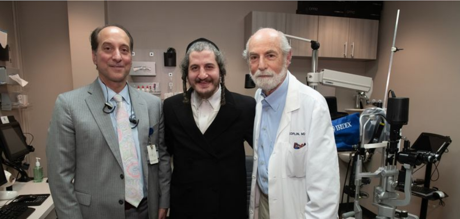 Kosher Meat Packer's Miracle Sight Restoration & Other Orthodox Jews in the News